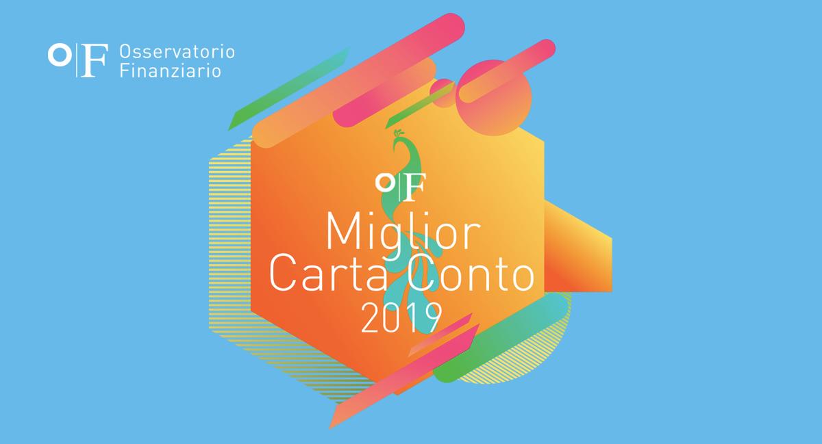 OFMiglior Carta Conto 2019 OF OSSERVATORIO FINANZIARIO